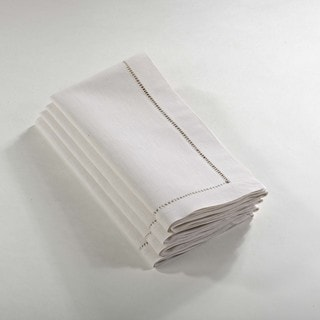 Link to Hemstitched Dinner Napkin (Set of 4) Similar Items in Table Linens & Decor