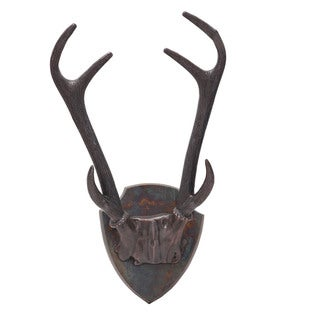Ren Wil Royal Antler Decorative Aluminum Bust