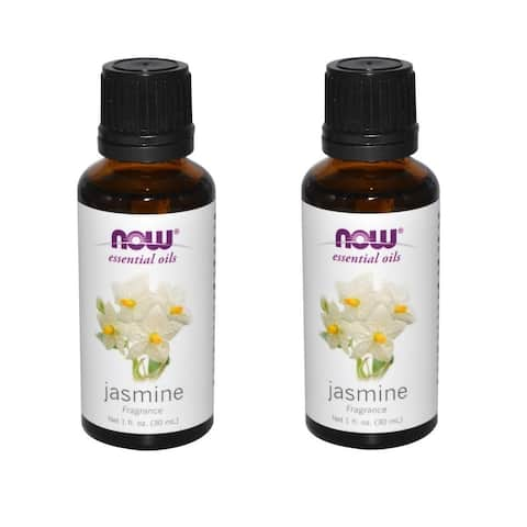 Now Foods Jasmine 1-ounce Essential Oil (Pack of 2)