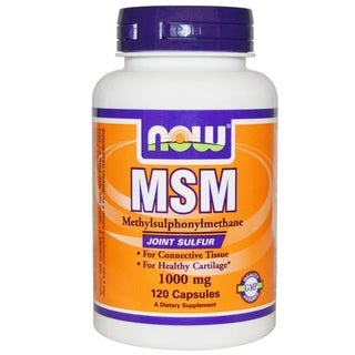 Now Foods MSM (120 Capsules)