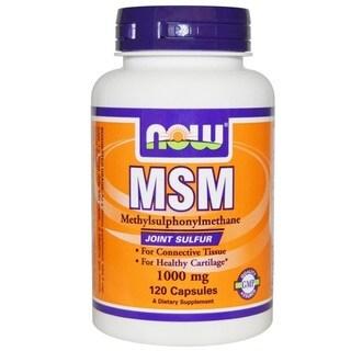 Now Foods MSM (120 Capsules)