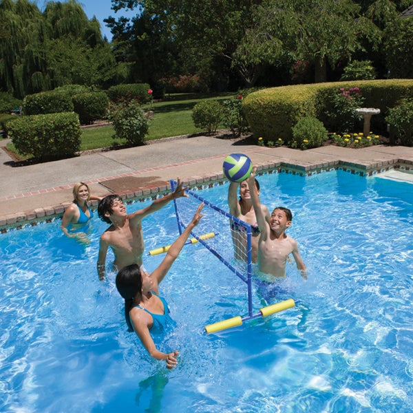 Shop poolmaster water volleyball game free shipping on for Pool design for volleyball