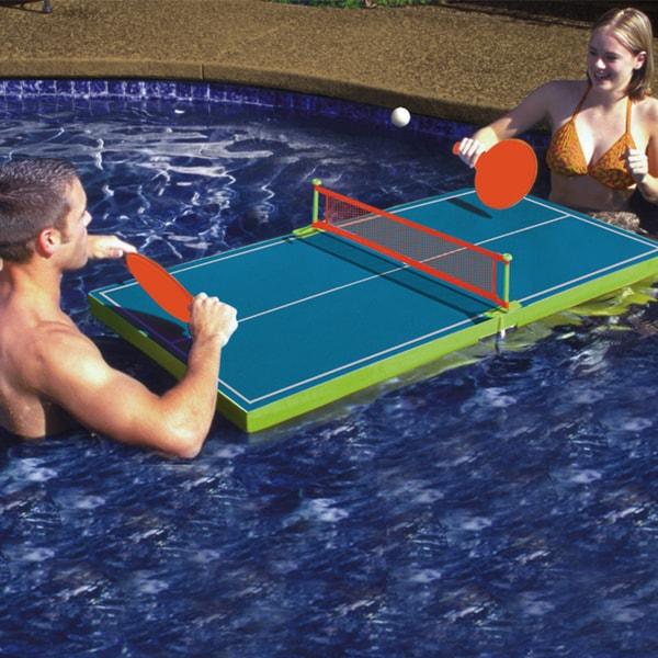 Shop Poolmaster Floating Table Tennis Game Free Shipping