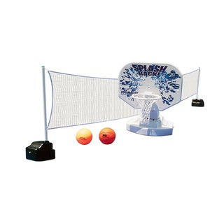 Poolmaster Splashback Poolside Basketball  and  Volleyball Combo