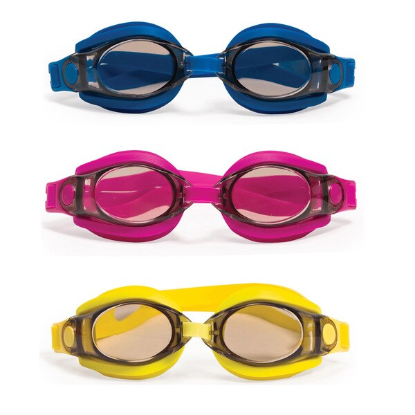 Poolmaster Silicone Sport and Fitness Swim Goggles