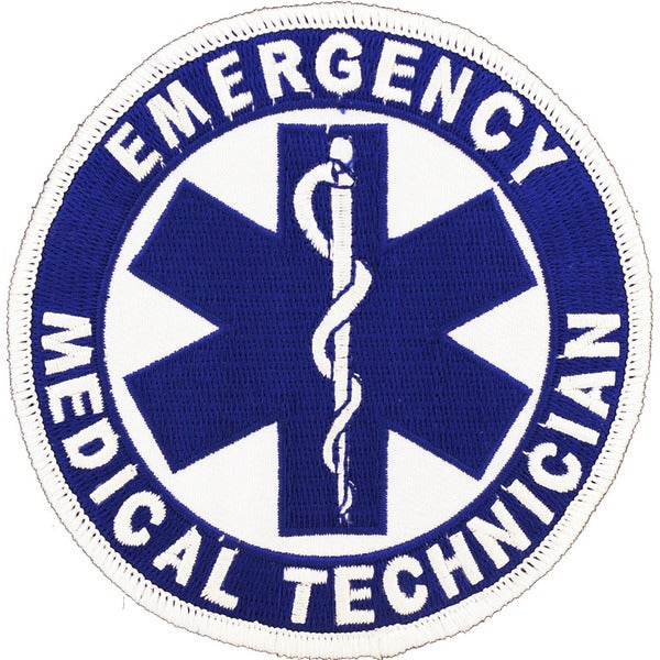 Emergency Medical Technician Logo Patch