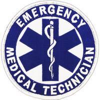 Emergency Medical Technician Logo Patch