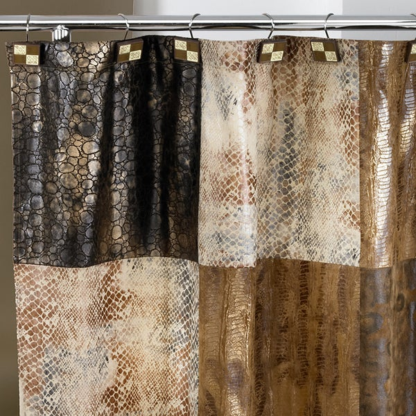 Leather Shower Curtain - Shower Ideas