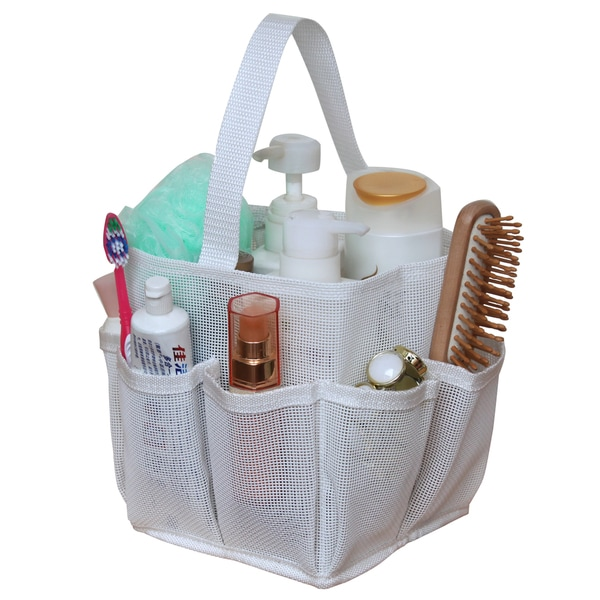 Breathable Mesh Shower Tote Bathroom Organizer
