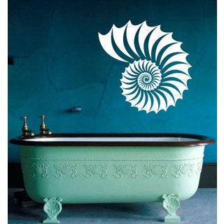 Seashell Sticker Vinyl Wall Art