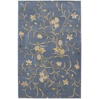 Rug Squared Beaumont Light Blue Rug - 5'3 x 8'3