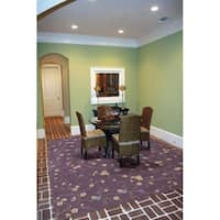Rug Squared Beaumont Lavender Rug - 5'3 x 8'3