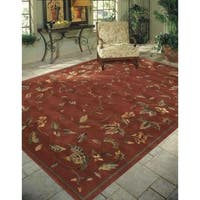Rug Squared Beaumont Persimmon Rug - 7'6 x 9'6