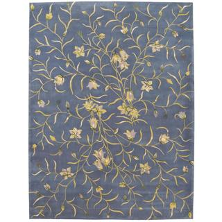 Rug Squared Beaumont Light Blue Rug (7'6 x 9'6)