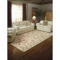Rug Squared Beaumont Light Gold Rug (7'6 x 9'6)