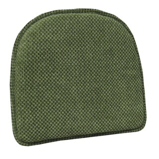 Rembrandt Green Delightfill Gripper Chair Pad (Set of 2)
