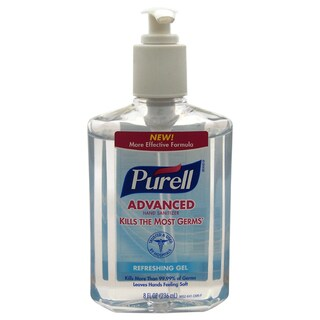 Purell Advanced Refreshing Gel 8-ounce Hand Sanitizer