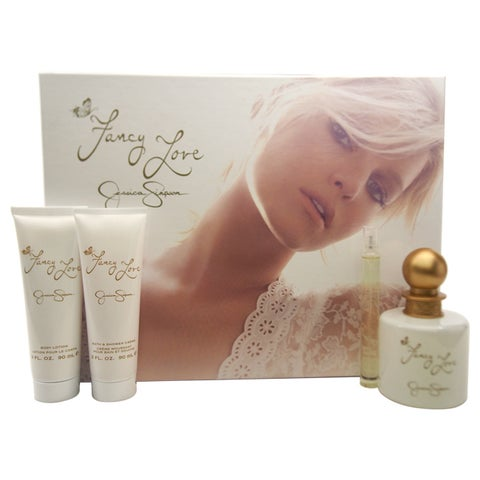 Jessica Simpson Fancy Love Women's 4-piece Gift Set