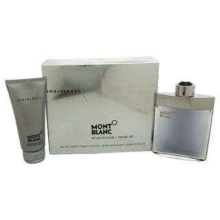 Mont Blanc Individuel Men's 2-piece Gift Set