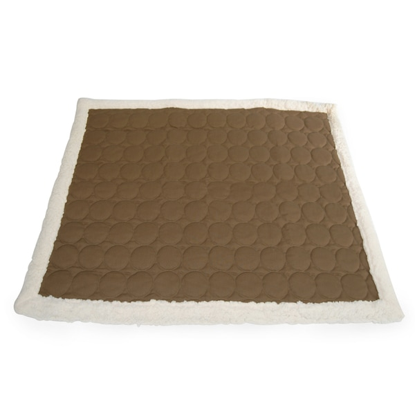 Ez Living Home Circle Quilted Water Repellent Reversible Cotton