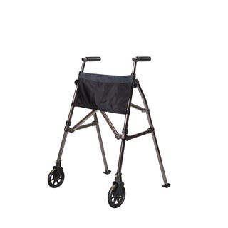 Stander EZ Fold-N-Go Walker Folding Travel Walker with Locking-swivel Wheels and Organizer Pouch|https://ak1.ostkcdn.com/images/products/10105448/P17245970.jpg?impolicy=medium
