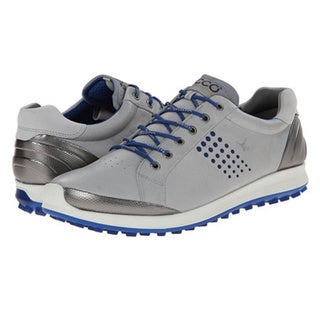 shop ecco men 39 s golf biom hybrid 2 spikeless grey silver. Black Bedroom Furniture Sets. Home Design Ideas
