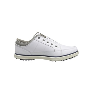 Callaway Men's Del Mar Sport 342-17 Spikeless White/ Grey Golf Shoes