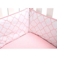 Trend Lab Pink Sky Crib Bumpers