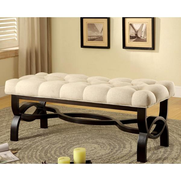 The Elegant Windsford Tufted Bench ·  Https://ak1.ostkcdn.com/images/products/10105674/ Home Design Ideas