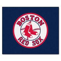 Fanmats Machine-Made Boston Red Sox Blue Nylon Tailgater Mat (5' x 6')