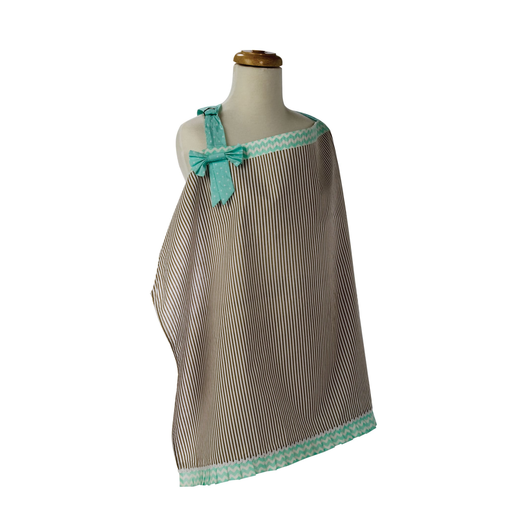 Trend Lab Cocoa (Brown) Mint Nursing Cover (Nursing Covers)
