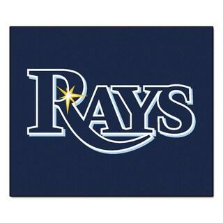 Fanmats Machine-Made Tampa Bay Rays Blue Nylon Tailgater Mat (5' x 6')