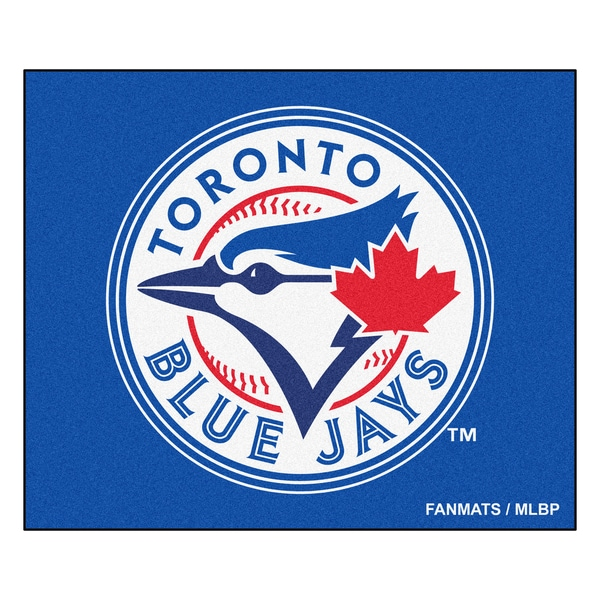 Fanmats Machine-Made Toronto Blue Jays Blue Nylon Tailgater Mat (5' x 6')