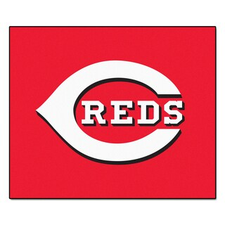 Fanmats Machine-Made Cincinnati Reds Red Nylon Tailgater Mat (5' x 6')