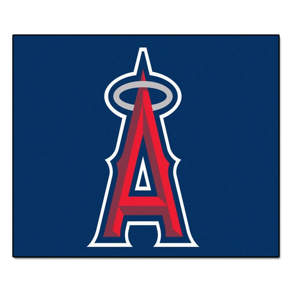 Fanmats Machine-Made Los Angeles Angels Red Nylon Tailgater Mat (5' x 6')