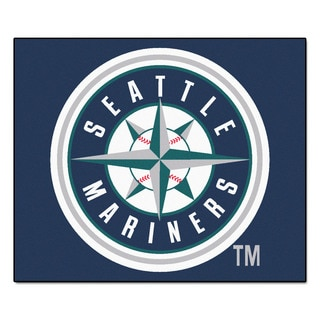 Fanmats Machine-Made Seattle Mariners Blue Nylon Tailgater Mat (5' x 6')