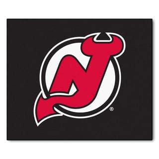 Fanmats Machine-Made New Jersey Devils Black Nylon Tailgater Mat (5' x 6')|https://ak1.ostkcdn.com/images/products/10105771/P17246242.jpg?impolicy=medium