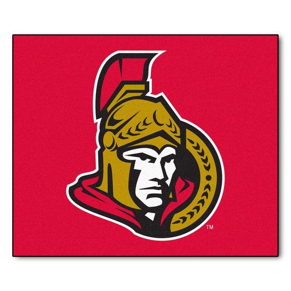 Fanmats Machine-Made Ottawa Senators Red Nylon Tailgater Mat (5' x 6')