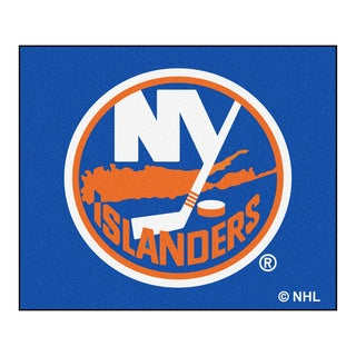 Fanmats Machine-Made New York Islanders Blue Nylon Tailgater Mat (5' x 6')