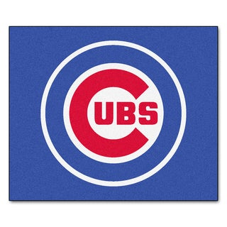 Fanmats Machine-Made Chicago Cubs Blue Nylon Tailgater Mat (5' x 6')