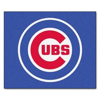 Chicago Cubs Blue Nylon Tailgater Mat (5' x 6')