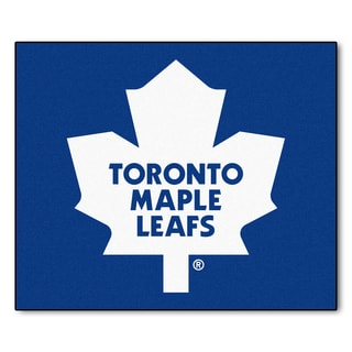 Fanmats Machine-Made Toronto Maple Leafs Blue Nylon Tailgater Mat (5' x 6')