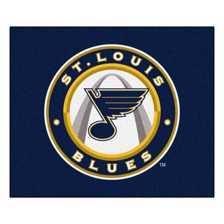 Fanmats Machine-Made St Louis Blues Blue Nylon Tailgater Mat (5' x 6')