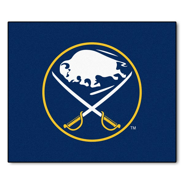 Fanmats Machine-Made Buffalo Sabres Blue Nylon Tailgater Mat (5' x 6')