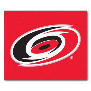Fanmats Machine-Made Carolina Hurricanes Red Nylon Tailgater Mat (5' x 6')