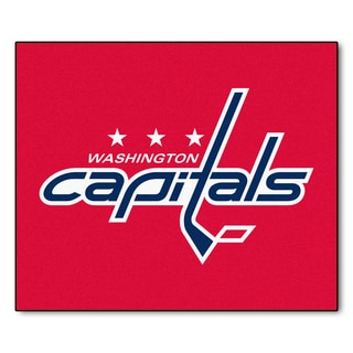Fanmats Machine-Made Washington Capitals Red Nylon Tailgater Mat (5' x 6')