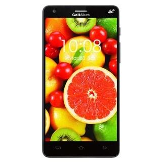 CellAllure Smart III 5.0 IPS/ Dual SIM/ 4G HPSD+/ 5-inch Screen/ Black Factory Unlocked Android Smartphone