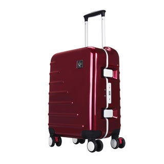 Travelers Club Seat On Collection 20-inch Spinner Upright Suitcase Deals
