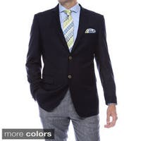 Zonettie-Ferrecci Solid Color Regular Fit Blazer Jacket - Business / Casual / Everyday Blazer