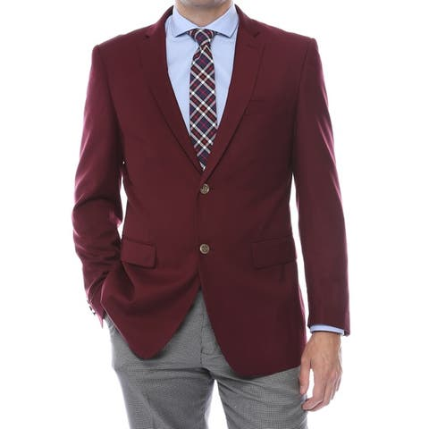 Zonettie-Ferrecci Solid Color Regular Fit Blazer Jacket - Business / Casual / Everyday Blazer